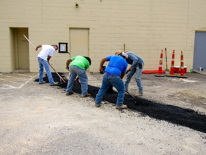 Concrete and Asphalt projects